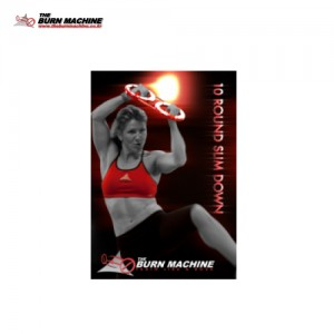 The BurnMachine 10 Round Slim Down DVD
